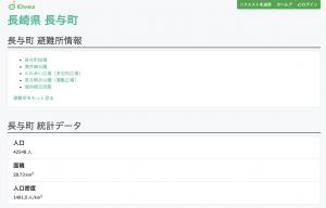 長崎県 長与町の例